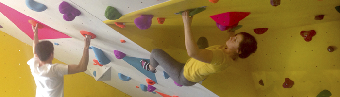 CUBE bouldering at YMCA Port Talbot