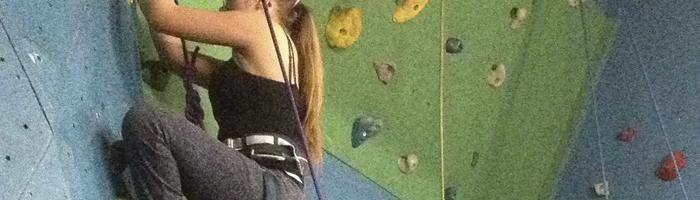 Climbing at YMCA Port Talbot