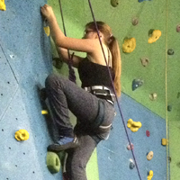 Climbing at YMCA Port Talbot