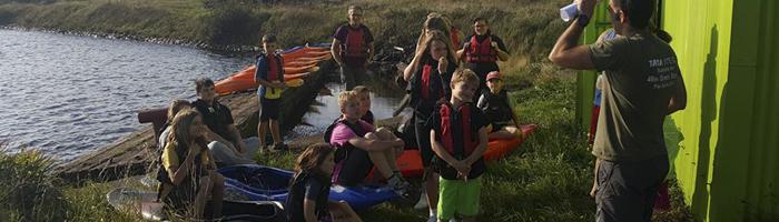 Kayaking and Canoeing at YMCA Port Talbot