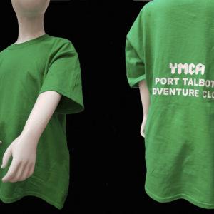 YMCA Port Talbot tshirt