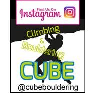 CUBE bouldering instagram